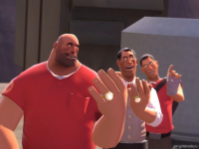 Casual Medic and Heavy