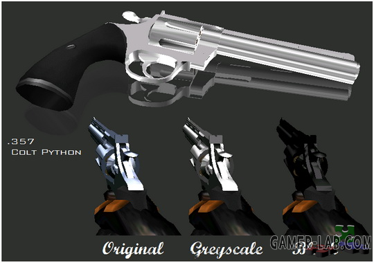 Colt Python Chrome (3 colors)