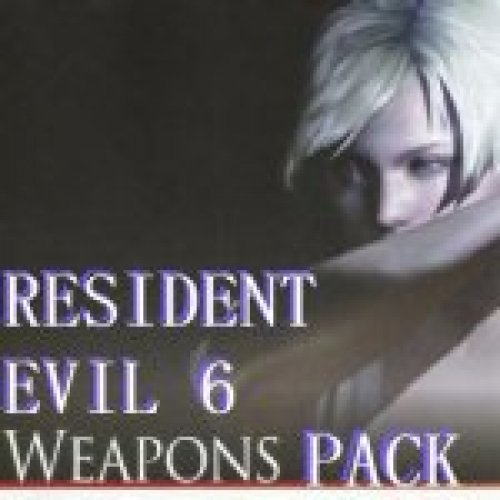 RE6 Guns (Weapons) Pack