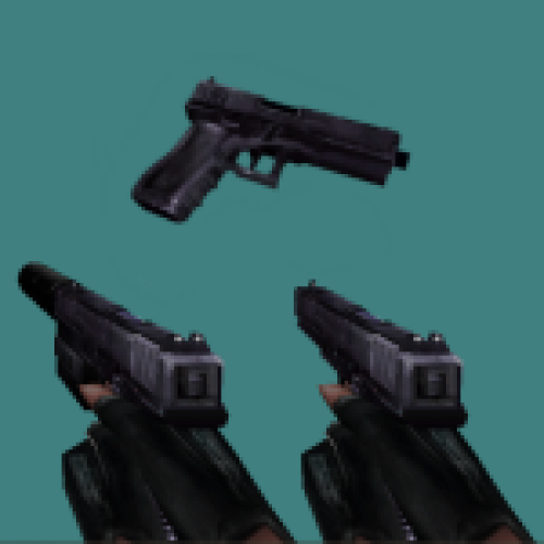 Red Slug's HL1 Glock 18 for TS