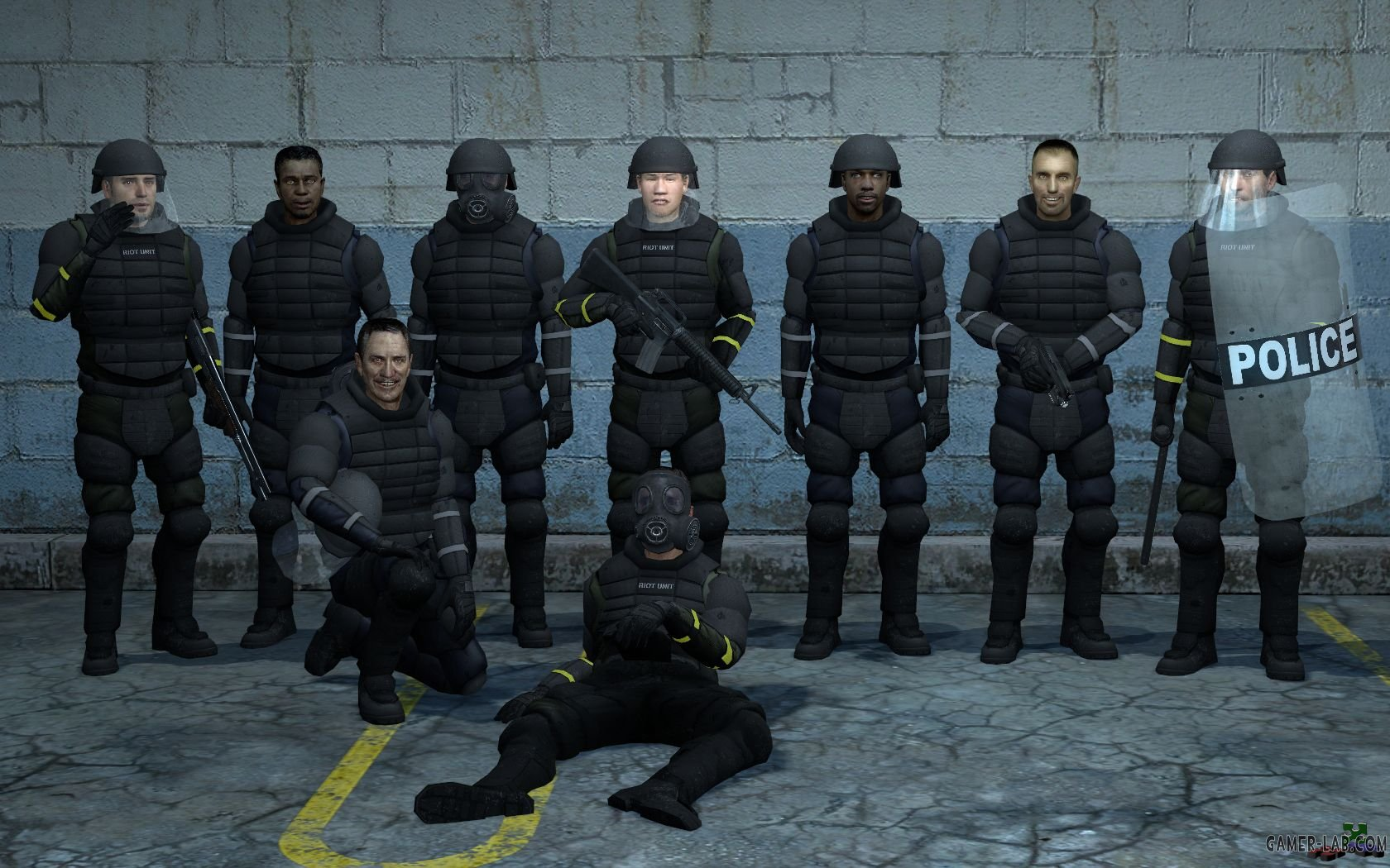 L4D2 Human Riot Officers v1.5