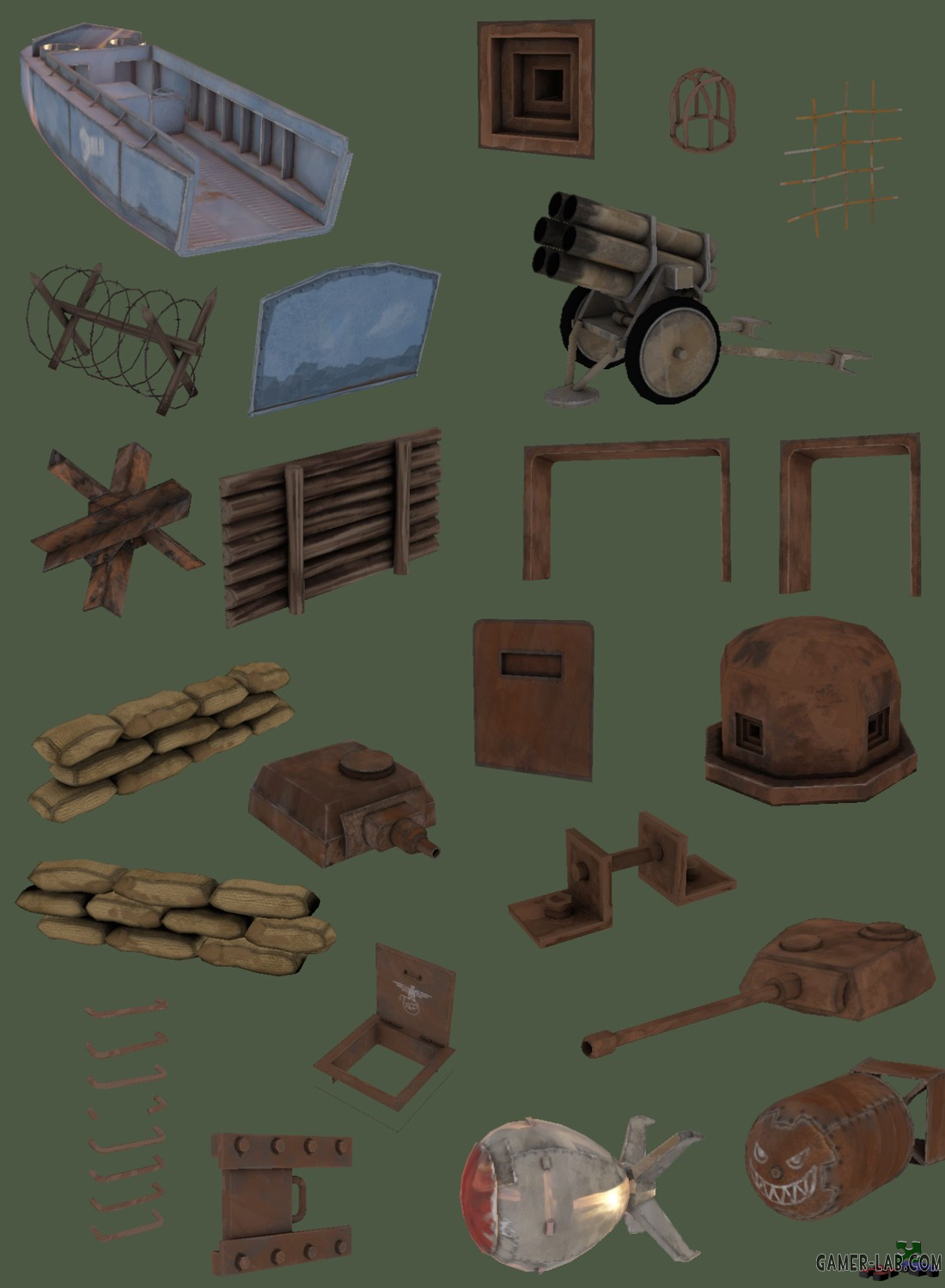 This WWII pack for TF2