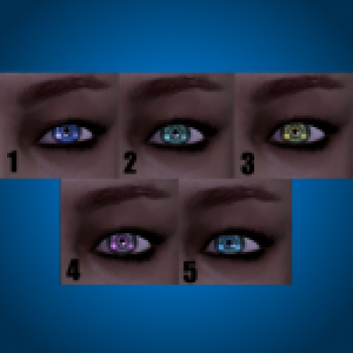 Illusion Man's Eyes Modifications