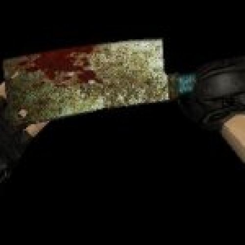 Rusty Bloody Cleaver