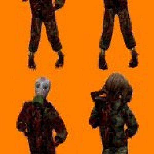 HL2 Paranoia Mod Zombies Pack