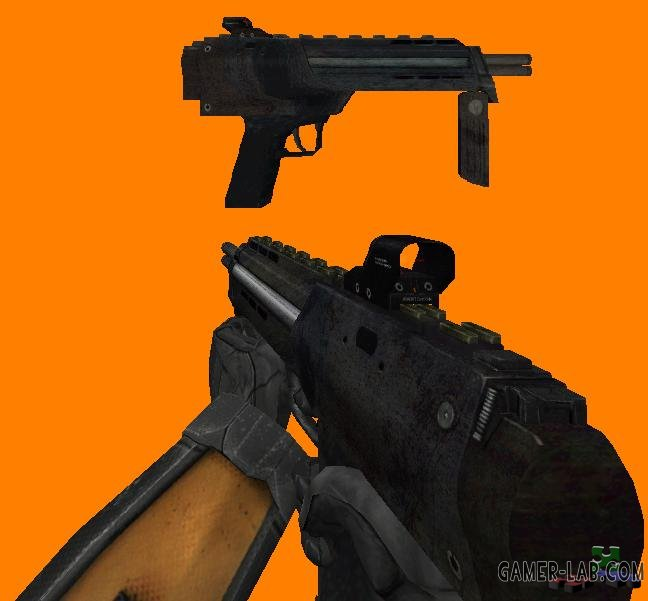 HL2 SMG1 (MP7) from CM