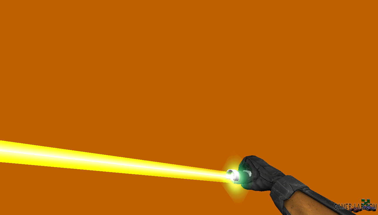 SW Lightsaber with HL2 Hand