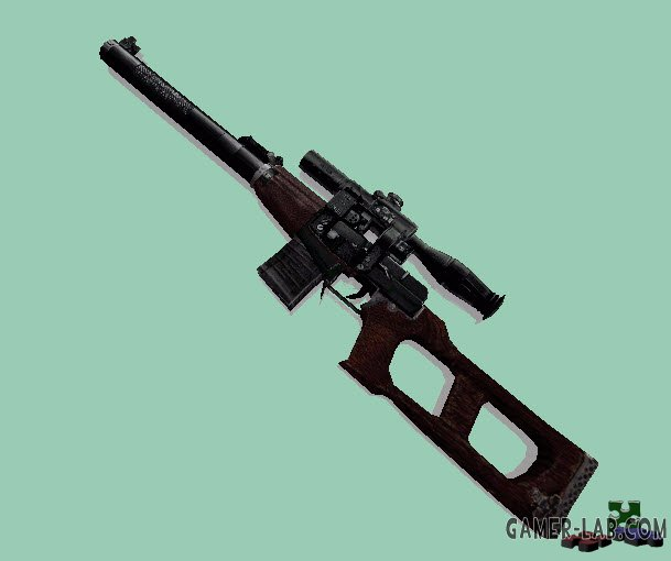S.T.A.L.K.E.R. VSS Dark Brown Skin