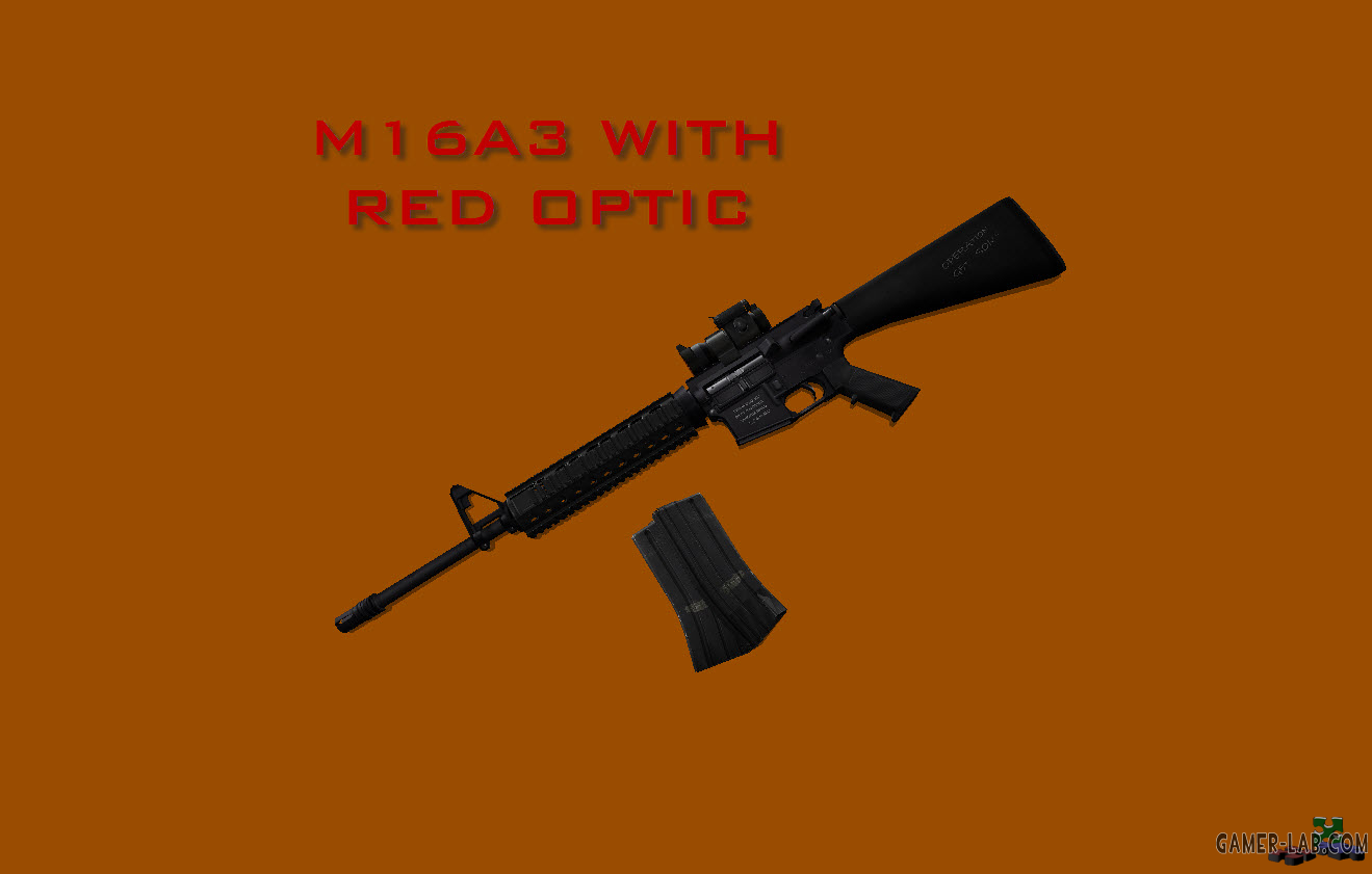 M16A3 with Red Aimpoint