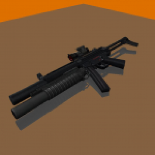 HK MP5SD with Red Aimpoint