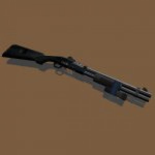 Remington M870 Black