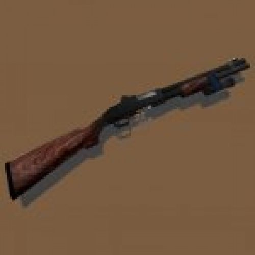 Remington M870 with flash