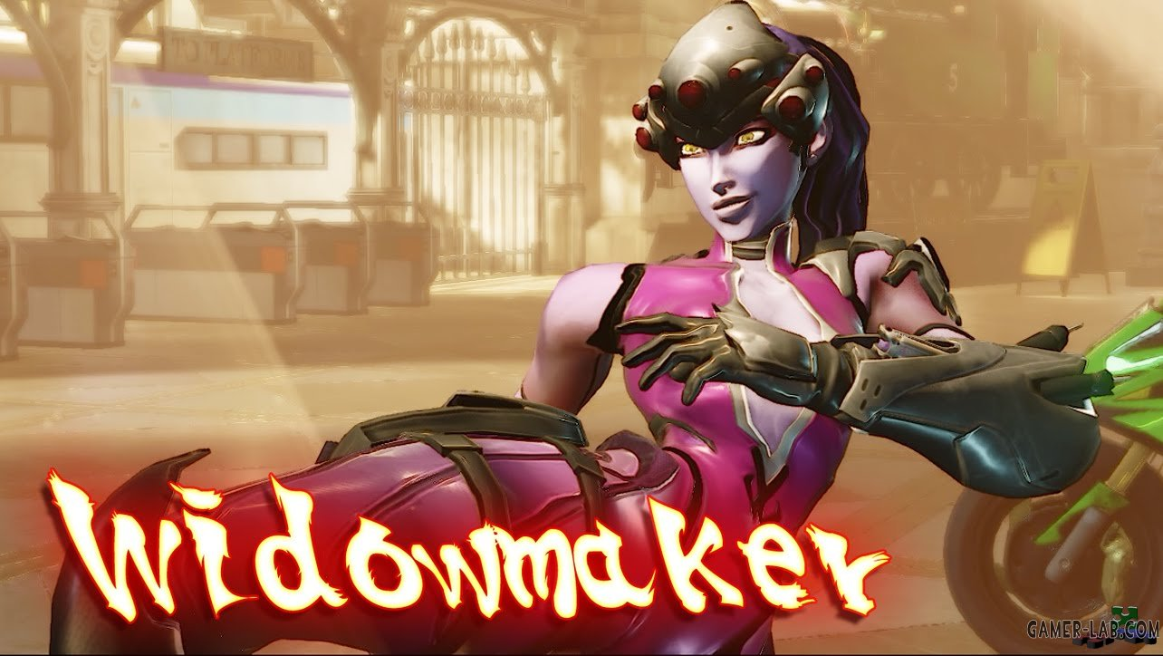 Juri as Widowmaker (OW)