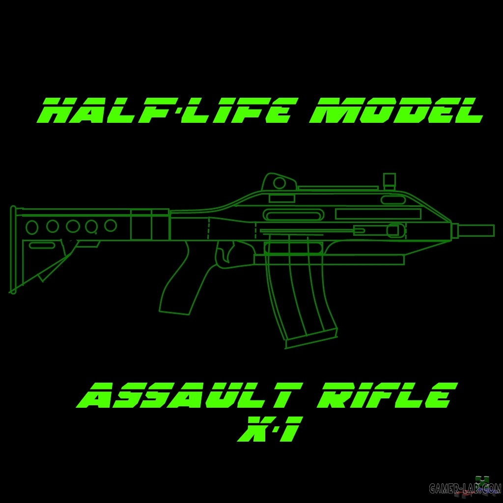 Assault Rifle X-1 (+Laser & EOTech)
