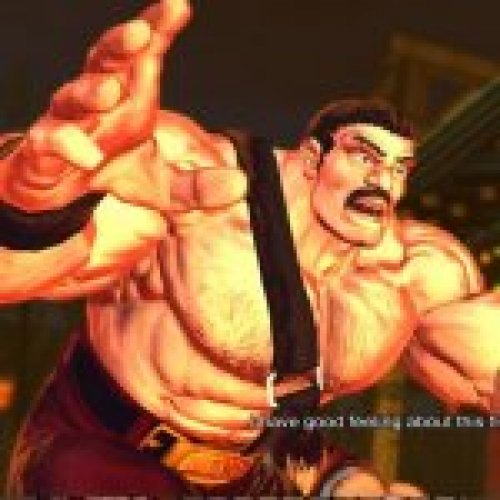 Zangief as Haggar from Final Fight