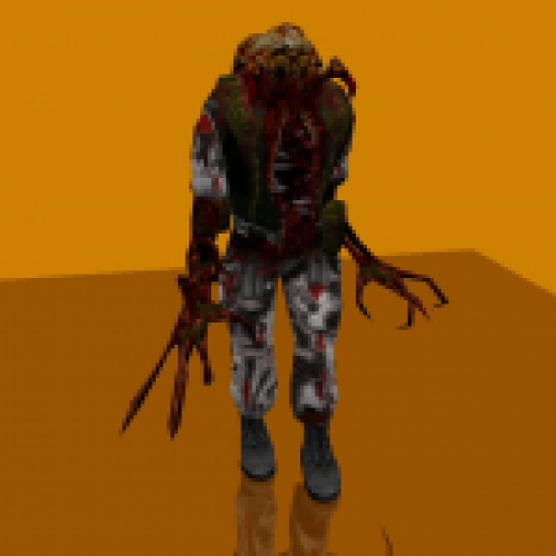 Old Style Zombie soldier