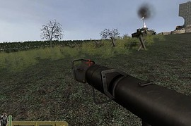 TSW panzerschreck without shield