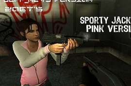 Zoey Sport Jacket Pink Version