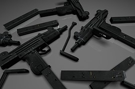 IMI_Mini_UZI_Animations