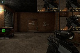 Steyr AUG A3 Animations