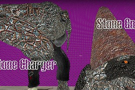 Stone Charger Gnome