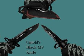 Black M9 Knife