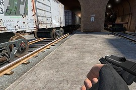 USP One-Handed Animations