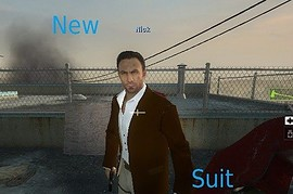Nick's new suit
