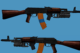 AK-74 GP-30 (UPDATED)