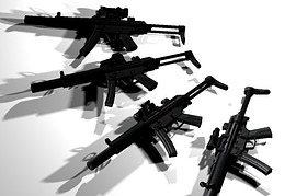MP5SD with 5 attachments