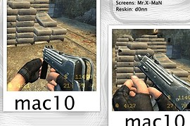 Mac10 Metalic