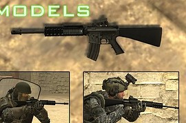 M16A4 on MW2 Animations