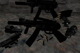 MP5K in 6 variations