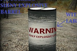 Shiny Explosive Barrel