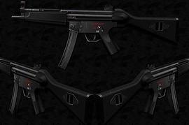 MP5A1_Sub-Machine_Gun