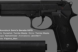 Boondock_Saints_Beretta_92FS_On_Jennifer_s_USP