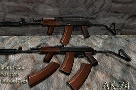AK74 on shortez anims
