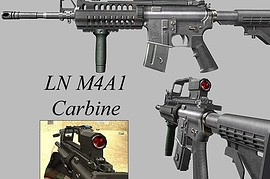 LN M4A1 For AUG