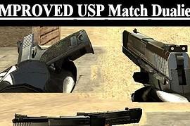 Improved S.T.L Usp Match Dualies