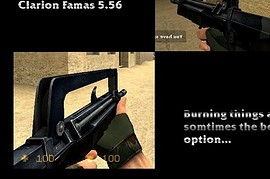 Burnt Famas