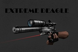 EXTREME deagle with scope