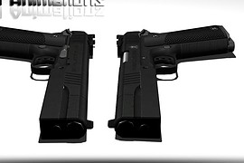 1911A1 Animations