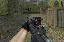 Hav0c SG552 RED DOT