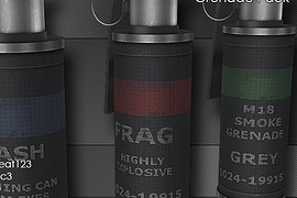 High Poly  Res Grenade Pack