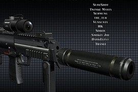 HK MP-7 Navy Seal Tactical PDW