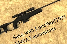 Sako with M40A3 anims