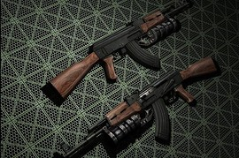 AK-47 with GP-30