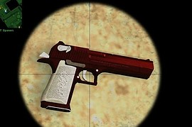 Red Havoc Deagle