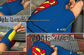 Superman_Gloves