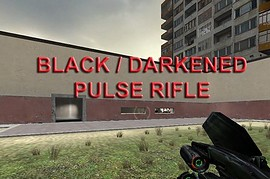 Black(Darkened) Pulse Rifle